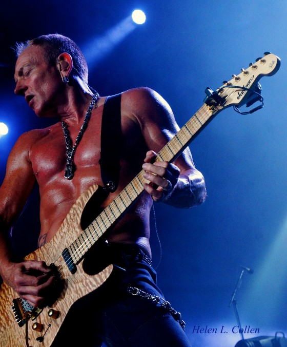 Phil Collen Live photo by Helen L. Collen
