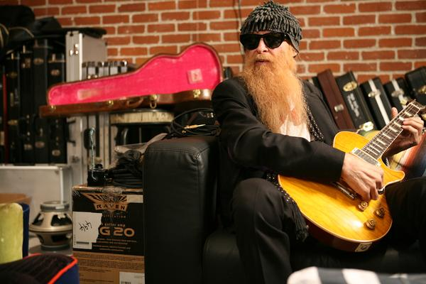 billy gibbons shaved