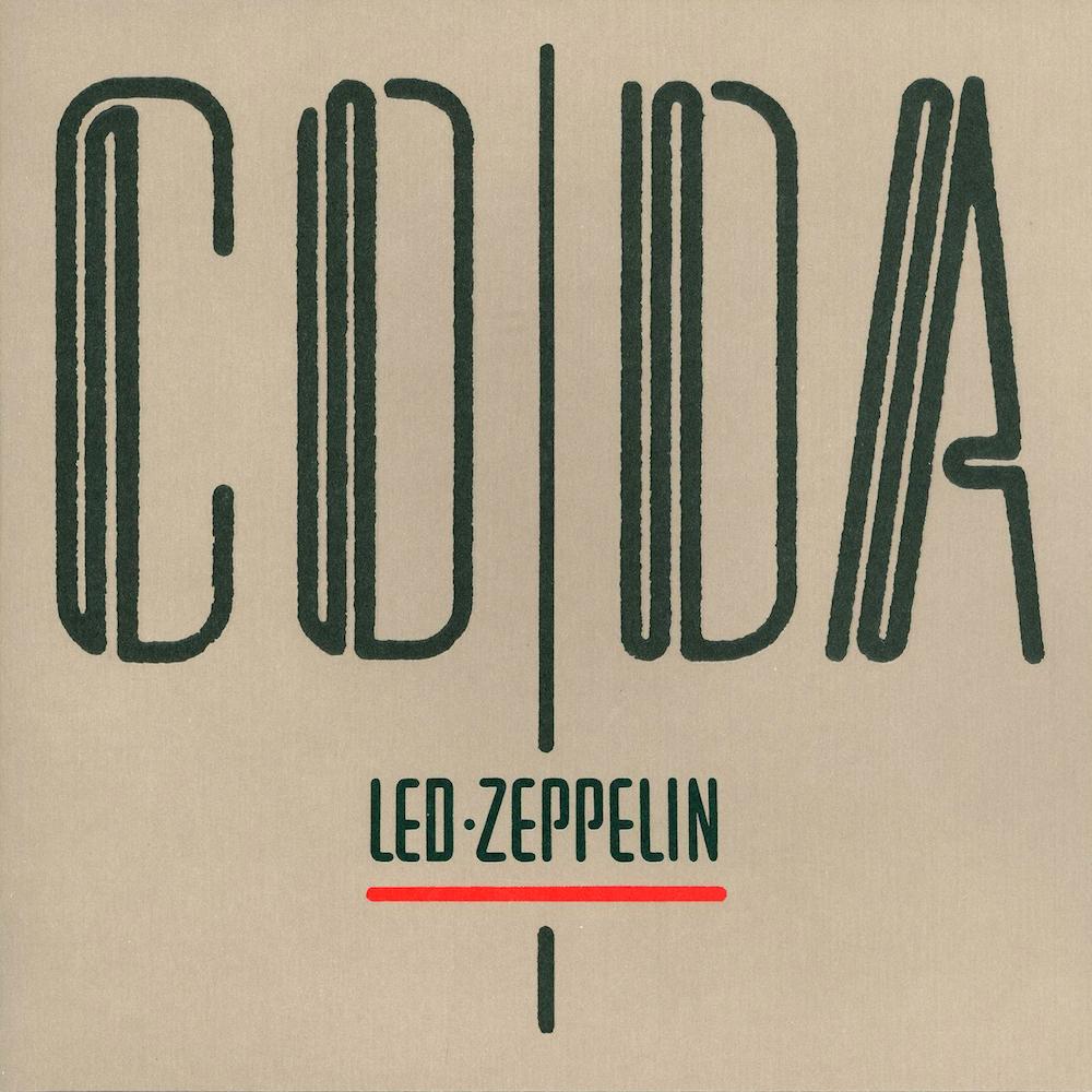 led zeppelin, coda okładka