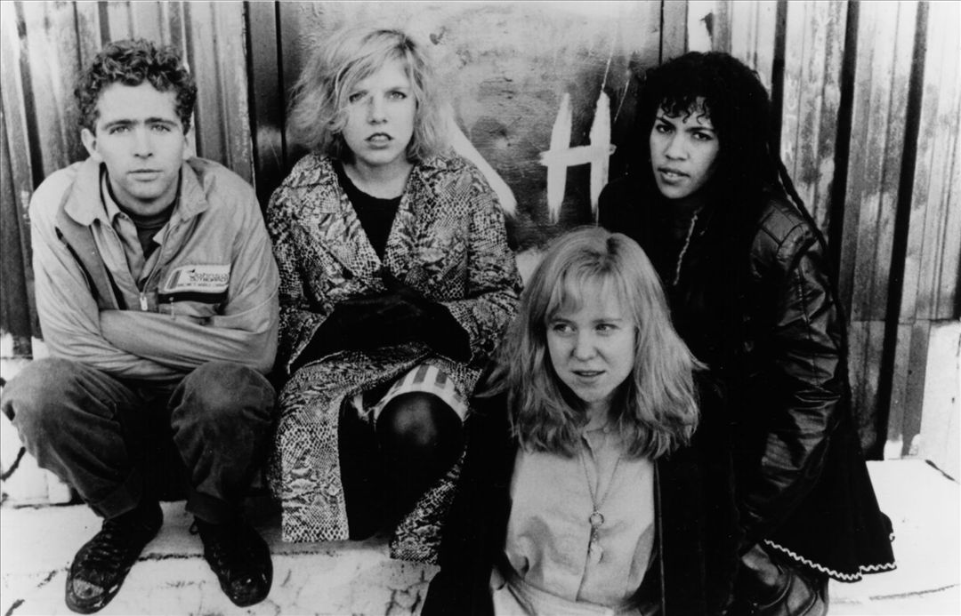 Throwing Muses (L-R): David Narcizo, Tanya Donelly, Kristin Hersh, Leslie Langston