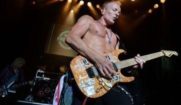 WEST HOLLYWOOD, CA - JUNE 06:  Def Leppard's Phil Collen performs at YouTube Presents Def Leppard At The House Of Blues at House of Blues Sunset Strip on June 6, 2012 in West Hollywood, California.  (Photo by Frazer Harrison/Getty Images)