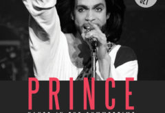 This photo taken on June 16, 1990 shows musician Prince performing onstage during his concert at the Parc des Princes stadium in Paris.   Pop icon Prince -- whose pioneering brand of danceable funk made him one of music's most influential figures -- died on April 21, 2016 at his compound in Minnesota. He was 57. The announcement came just a week after the Grammy and Oscar winner was taken to hospital with a bad bout of influenza, although he made light of his health problems after the scare.   / AFP / Bertrand GUAY        (Photo credit should read BERTRAND GUAY/AFP/Getty Images)
